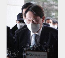 """윤석열 사퇴 """"어떤 위치에 있든 자유민주주의-국민 지키겠다"""""""