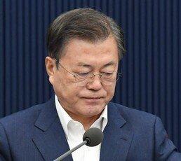文 지지율 33.4% 역대 최저…국민의힘 39.4% 최고기록