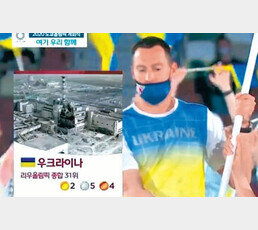 MBC, 우크라이나 입장때 체르노빌 화면 논란