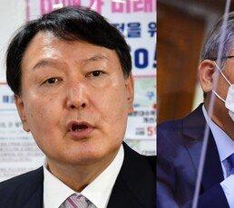 """尹 """"전두환, 5·18-쿠데타 빼면 정치 잘했다"""" 李 """"석고대죄하라"""""""