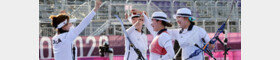 상대팀도 수준 차이 인정…한국 궁사들의 훈련 비결은