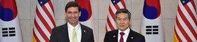 美 국방, 韓에 지소미아 연장·방위비 분담 '거센 압박'