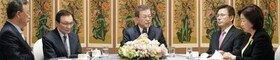文대통령, 여야 4당대표 회동…주요 논제는 신천지교회 관련 대책
