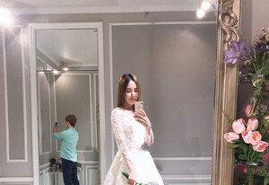 [DAY컷] '11월 결혼' 간미연♥황바울 럽스타그램…눈부신 웨딩드레스