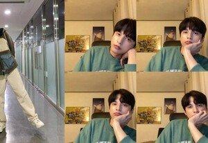 [DAY컷] '스토브리그' 윤선우, 홍보요정 등극…남친짤 저장