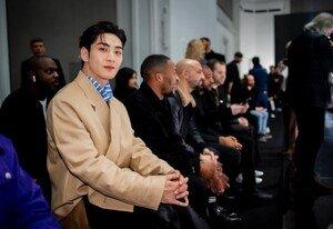 [DAY컷] 뉴이스트 백호, 韓파 대표로 파리 패션 위크 참석