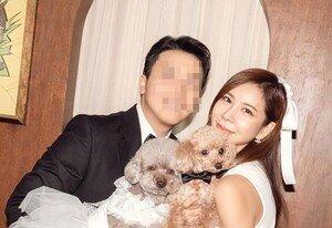 [DAY컷] 김준희 가족사진, ♥연하 남편과 달달한 웨딩 촬영
