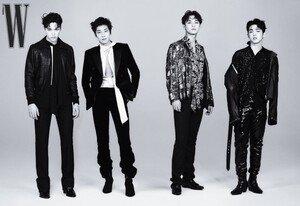 세븐틴 에스쿱스·원우·민규·버논, 흑백 뚫는 비주얼 과시 [화보]