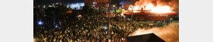 """""""살인자들!""""…폭동 수준으로 격화되는 '흑인 사망시위'"""