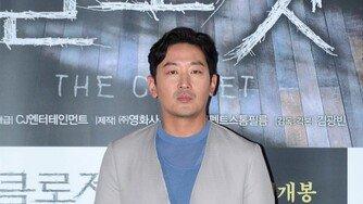 배우 하정우 프로포폴 불법 투약 의혹 제기 '입장 표명 없이 묵묵부답'