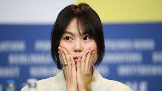 [포토] 김민희, '도망친 여자' 기자 간담회 참석