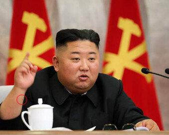 잠행 22일 만에 돌아온 김정은, 또 검은 점 노출