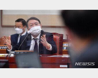 """尹 """"총선 후 사퇴론 나올때, 文대통령이 소임 다하라는 뜻 전해와"""""""