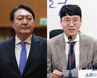 """김웅, 못 챙겨 미안하단 윤석열에 """"총장님 걱정이나""""…尹 '하하'"""