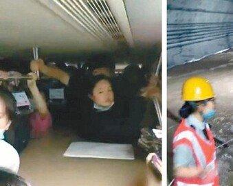 """""""中서 1000년에 한번 볼 폭우""""… 지하철 침수로 12명 사망"""
