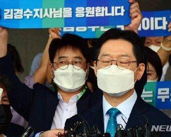 """이준석 """"與 '착한 김경수'?…뒤에서 누가 시켰다는 말이냐"""""""