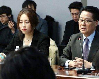 """[단독]박지원-조성은 '동석자' 지목 洪캠프 인사 """"朴원장-조씨 모른다"""""""