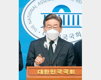 """[사설]""""조선일보는 대선 손 떼라""""는 이재명의 위험한 언론관"""