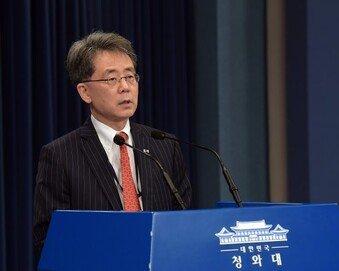 """김현종 특보 """"이재명, 리더의 자질 있어…글로벌 대통령 하길"""""""