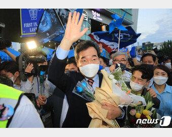 이낙연, 광주전남서 122표차 첫 승…이재명 '대장동 의혹'에 주춤