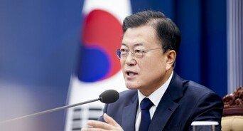 文대통령 국정지지율 40%…향후 1년 경기전망 '낙관론' 우세