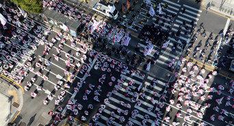 민노총 '총파업 대회' 1시간54분만에 마무리…2만7000명 몰려