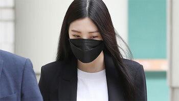 """'음주운전 사고' 리지, 최후진술서 울먹""""매일 후회·죄책감""""…檢 1년 구형"""