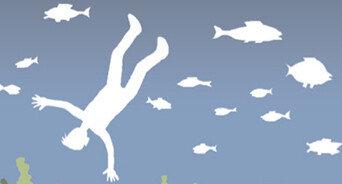 바다의 공포를 버티려는 어부들의 몸짓