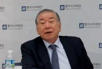 """문정인 """"주한미군 감축北 비핵화 '협상 카드' 될 수도"""""""