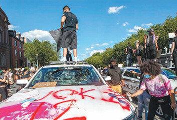 폭동으로 번진 美시위,25개 도시 통행금지령