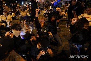 美국방부, 시위 진압 위해 병력 1600명 워싱턴DC로 이동