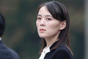 """김여정 """"대북전단 방치하면군사합의 파기 각오해야"""""""