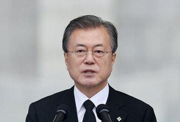"""文대통령 """"자유·번영, 순국선열 헌신 위에 서 있어"""""""