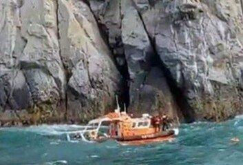 홍도 해상동굴 고립 다이버 2명 구조했지만…해경 1명 실종