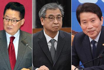 국정원장 박지원·국가안보실장 서훈통일장관 이인영