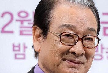 """이순재 """"前 매니저 처우 논란사과…부덕의 소치"""""""