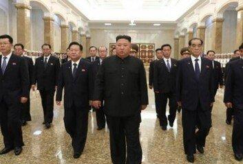 北 김정은, 김일성 사망 26주기 맞아 금수산태양궁전 참배