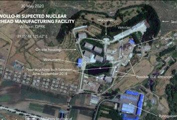 """[속보] CNN """"평양 인근 핵개발의심시설서 활동 포착"""""""