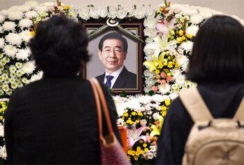 """5일간 서울특별시葬에 """"공무중 사망 아닌데…"""" 비판 목소리도"""
