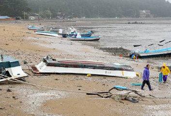 수중기 품은 또다른 저기압 온다7~8일 전국에 돌풍-강한 비