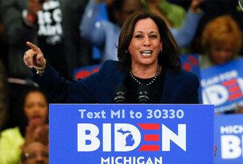 바이든, 러닝메이트로 해리스 지명美 첫 흑인 여성 부통령 후보