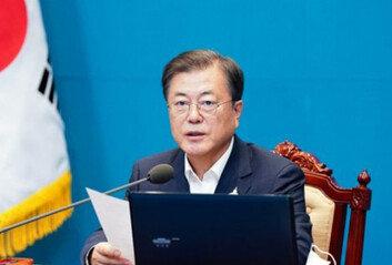 文대통령 지지율, 취임 후 최저치10개월만에 '40%대 붕괴'