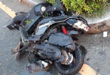 대마 환각 포르쉐에 치인 오토바이운전자, 평생 장애 안고 살 수도