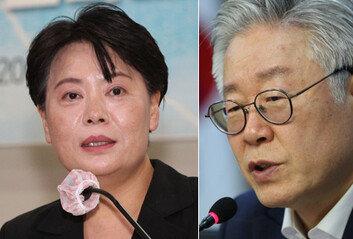 """윤희숙 """"전문가 비난하고 위협"""" vs 이재명 """"공개토론 하자"""""""