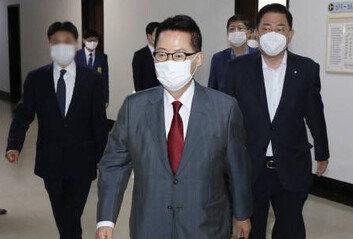 """박지원 """"국정원, 정치 관여못하게 법률로 명확히 하겠다"""""""