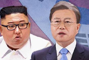 """文대통령 """"김정은 생명존중의지에 경의"""" 친서 논란"""