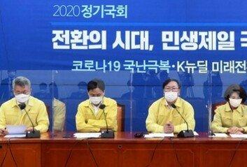 """민주당 """"대북규탄결의안 유효원내수석 간 회동 제안"""""""