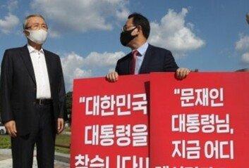 """정청래 """"국힘,  美대사관으로 가 '트럼프 배신자' 외쳐라"""""""