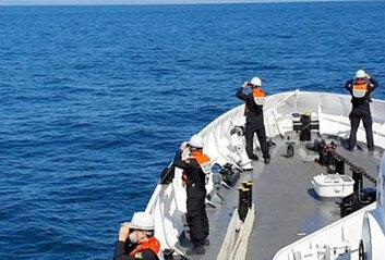 해군, 소청도 인근서 구명의 발견…'해경 수색중'