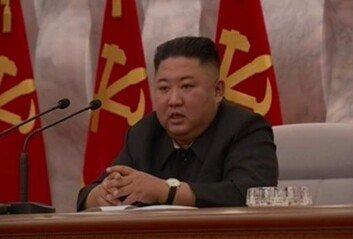 김정은, 정치국회의서 코로나 점검공무원 사망 언급 없어